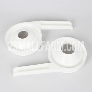 Plastic skim milk receiver and cream receiver for electric  separator Motor Sich