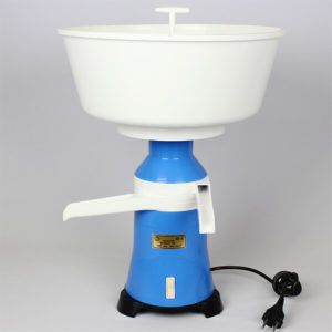 Cream separator for milk